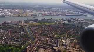 Video Landing Transavia 737 op Rotterdam Waanzinnige aanvliegroute! MP3, 3GP, MP4, WEBM, AVI, FLV Agustus 2019