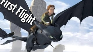 Video DREAMWORKS How To Train Your Dragon - Hiccup & Toothless - First Flight Scene MP3, 3GP, MP4, WEBM, AVI, FLV Juni 2018
