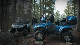 8. Arctic Cat TRV 1000 exhaust sound and mud offroad compilation