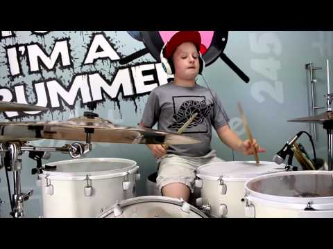 Ain39t It Fun Paramore Drum Cover See Briggs Rock Drum Cover