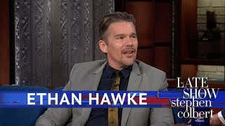 Ethan Hawke Knows To Seek Knowledge From Masters