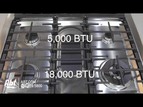 Samsung Slide-In Convection Gas Range NX58H9500 Overview