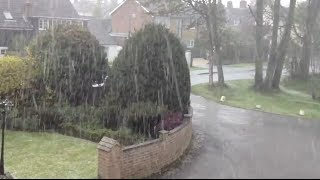 Hitchin United Kingdom  city pictures gallery : Amazing Hail Storm Batters Hitchin, UK