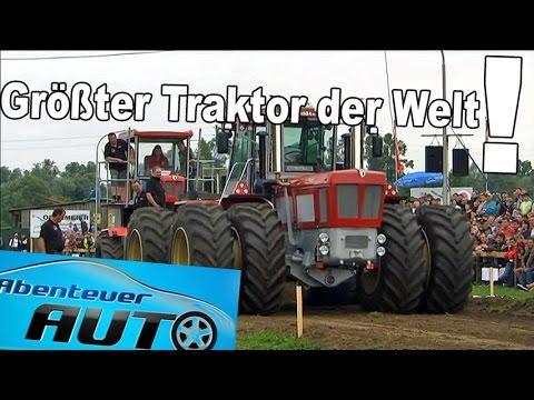 Gigantischer Traktor vs Rest der Welt: Tractor-Pulling 400 PS Klasse - Abenteuer Auto
