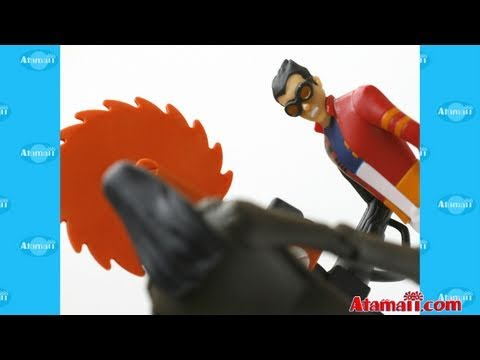 Generator Rex Action Figures Toy Review Unboxing