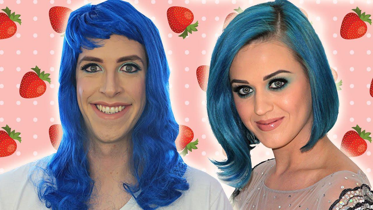 Men in Pop Star Makeup