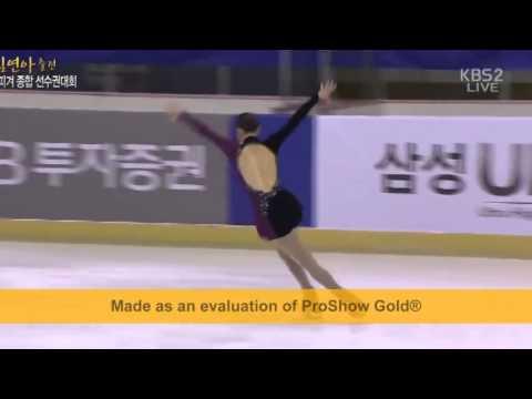 김연아 Yuna Kim Sochi Olympics 2014피겨종합선수권대회프리