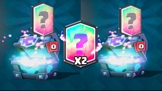 Video TWO LEGENDARIES ''SUPER MAGICAL CHEST'' OPENING :: Clash Royale :: AWESOME LEGENDARY CHALLENGE! MP3, 3GP, MP4, WEBM, AVI, FLV Mei 2017