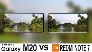 Samsung Galaxy M20 Vs Redmi Note 7 Camera Test