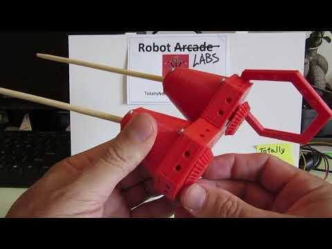 Centipede Bio-inspired Walking Robot - Next Leg Design Iteration