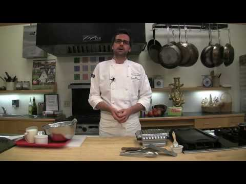 waffels - Culinary School of the Rockies chef Michael Montgomery details the making of homemade waffles Video by Paul Aiken / The Camera / http://www.dailycamera.com/
