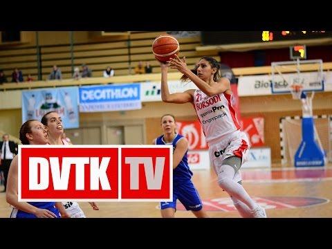 Női kosárlabda NB I. A-csoport rájátszás az 5-8. helyért Aluinvent DVTK - ZTE NKK