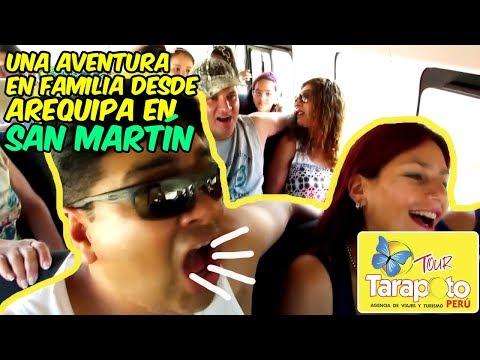 Una Aventura en Familia desde Arequipa en San Martín con #TourTarapotoPeru