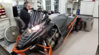 5. Arctic Cat ZR9000 on the dyno at Goodwin Performance