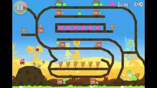 Angry Birds Seasons Golden Egg 21 Walkthrough Summer Pignic