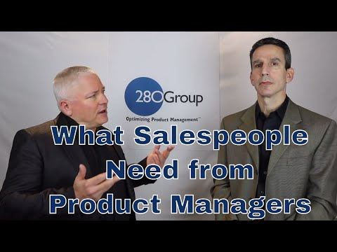 Three Things Salespeople Need from Product Managers