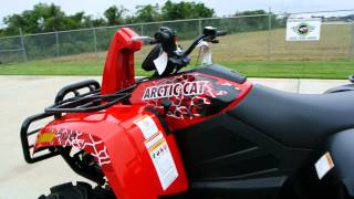 4. $11,499: 2014 Arctic Cat 700 MudPro LTD EPS in Vibrant Red  Review and Overview   For Sale $11,499