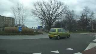 Venlo Netherlands  city pictures gallery : Driving in Venlo, Netherlands