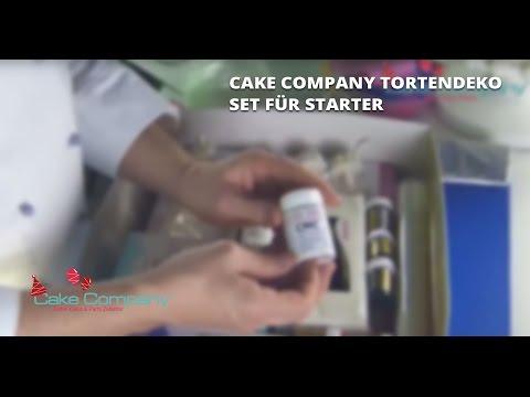 Cake Company Tortendeko Set für Starter