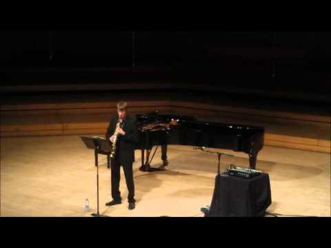 Paganini Caprice No.3 performed on soprano saxophone by Alastair Penman