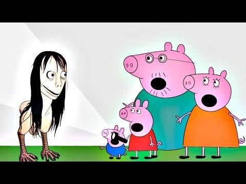 Peppa Pig en español - Momo aparece en videos de Peppa Pig