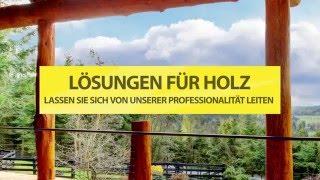 L�SUNGEN F�R HOLZ: LASSEN SIE SICH VON UNSERER PROFESSIONALIT�T LEITEN