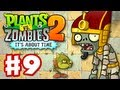Plants vs. Zombies 2: It's About Time - Gameplay Walkthrough Part 9 - Pyramid of Doom (iOS)