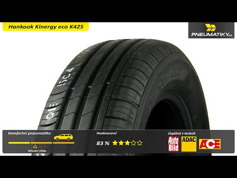 Youtube Hankook Kinergy eco K425 195/65 R15 91 T Letní