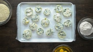 Spinach Artichoke Dip Onion Rings by Tasty
