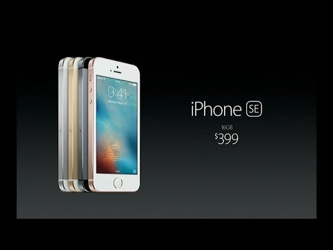 Apple presenta el iPhone SE [video]