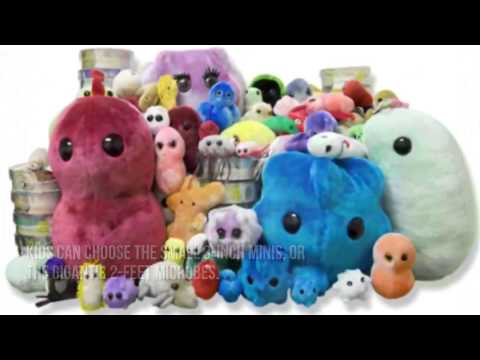 ➨ Giant Microbes Plush Stuffed Toys Review : Best Xmas Toys For Kids 2014-2015