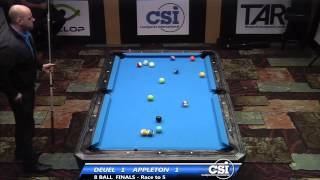 2014 CSI USBTC 8 Ball FINALS Set 1: Corey Deuel Vs Darren Appleton