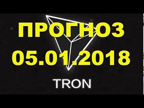 TRX/USD — TRON прогноз цены / график цены на 5.01.2018 / 5 января 2018 года