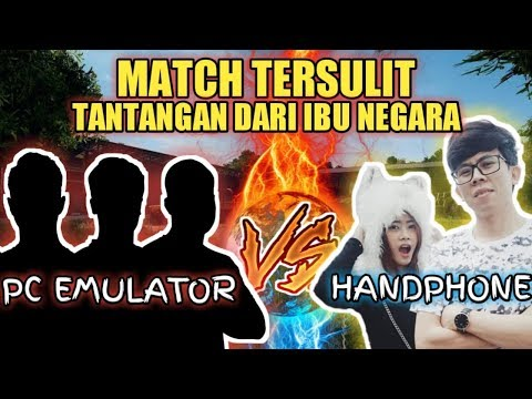 MATCH TERSULIT BARENG IBU NEGARA VS PC EMULATOR !!! - PUBG MOBILE INDONESIA