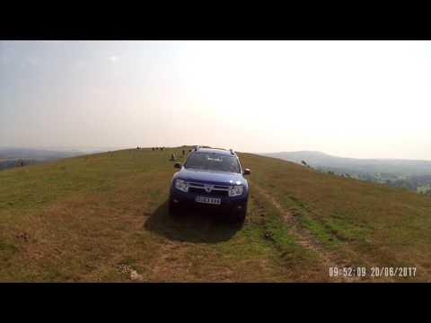 Green Lane Driving With 3 Dacia Dusters - Three Dusters Drive The Corfe Ridgeway