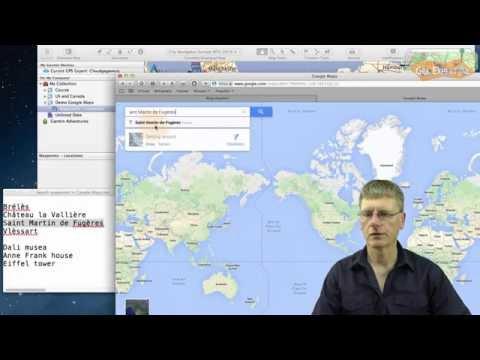 Use Google/Bing map locations in Garmin BaseCamp (Win/Mac)