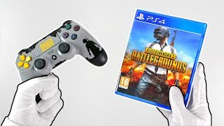 PUBG on PS4... Unboxing PlayerUnknown's Battlegrounds + Gameplay