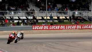 7. HSBK Racing's Derek Wagnon onboard the Houston Superbikes Ducati 848 EVO