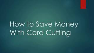Are you a cord cutter? How much are you saving? You can find us on:Facebook: https://www.facebook.com/CordCuttersNewsTwitter: https://twitter.com/CordCuttersNewsSite: http://cordcuttersnews.com
