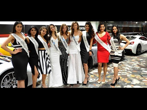 Fashion of Multicultural Australia Raj Suri Miss India Australia 2017 – Top Talent meets Top Cars