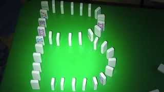 Video Learn how to write the ABCs DOMINO EFFECT STYLE-- Alphabet Dominoes MP3, 3GP, MP4, WEBM, AVI, FLV Juli 2018