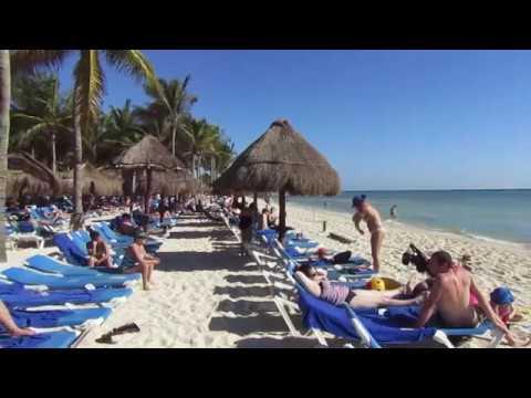 The Grand Riviera Princess Hotel. Mexico 2017. ( The beach. )