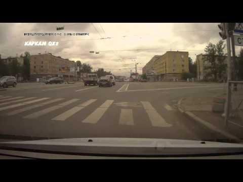 Авария с Мотоциклистом в Питере