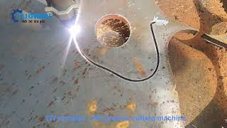 Simple CNC plasma cutting machine youtube video