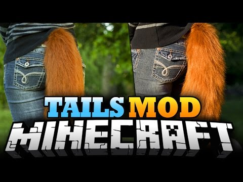 Minecraft Mod   TAILS MOD - Fox Tails, Dragon Tails, Ninetales! - Mod Showcase (Wearable Tails)