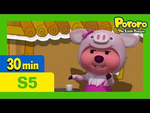 Pororo English Episodes l Let's Put On A Play! l S5 EP20 l Learn Good Habits for Kids
