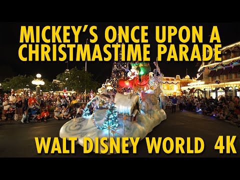 Mickey's Once Upon A Christmastime Parade 2019 | Mickey's Very Merry Christmas Party