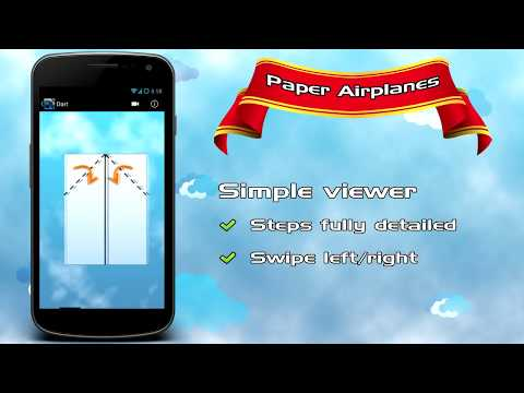 Video of Paper Airplanes