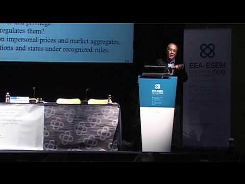 EWR-ESEM09: Roger Myerson, Econometrics Society Presidential Address (Zusammenfassung)