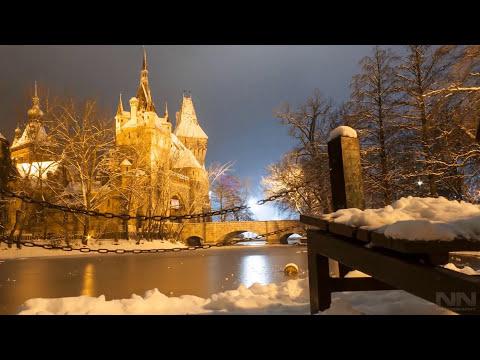 Budapest Timelapse videó